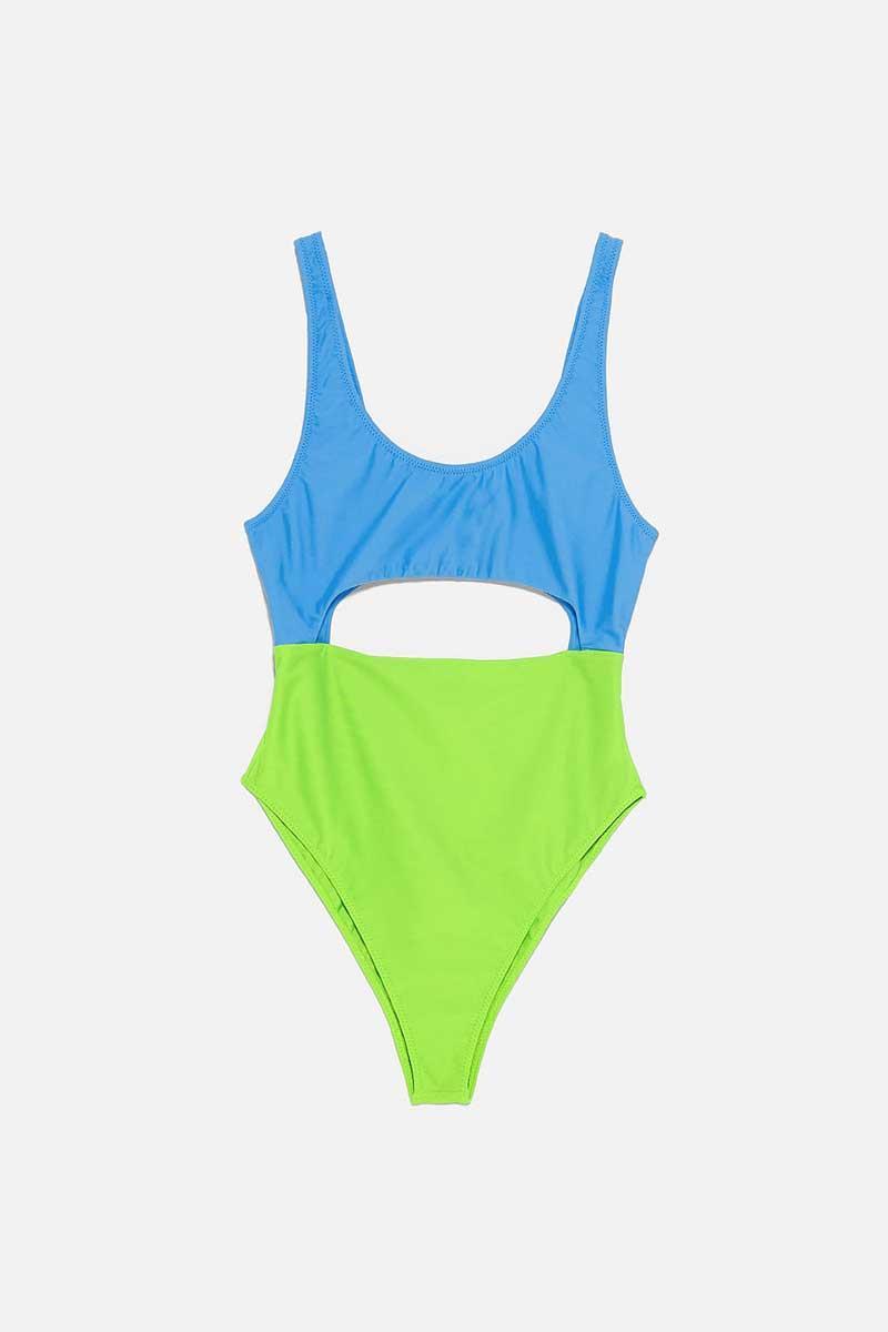 muchos de moda Nueva York comparar el precio Zara bañadores: Zara online rebaja sus bañadores mujer de ...