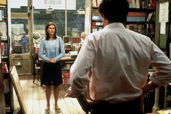 Los looks de Julia Roberts en Notting Hill