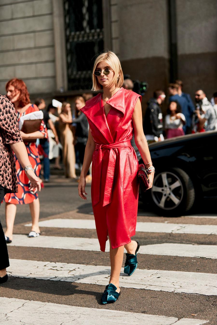 Cómo Combinar Un Vestido Rojo Este Verano 2019