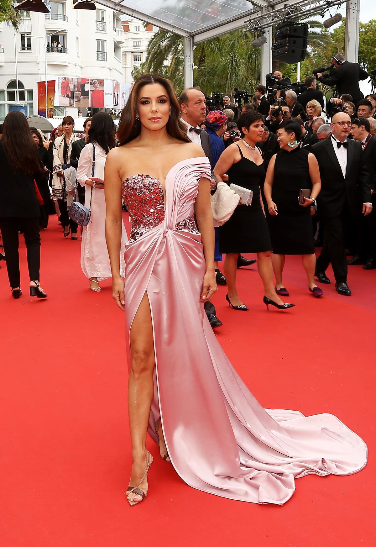 083c2d06a Eva Longoria y su vestido de princesa en