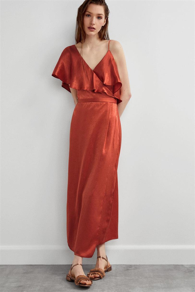 nuevas imágenes de venta reino unido muchos de moda Malena Costa ha encontrado el vestido rojo de verano 2019 ...