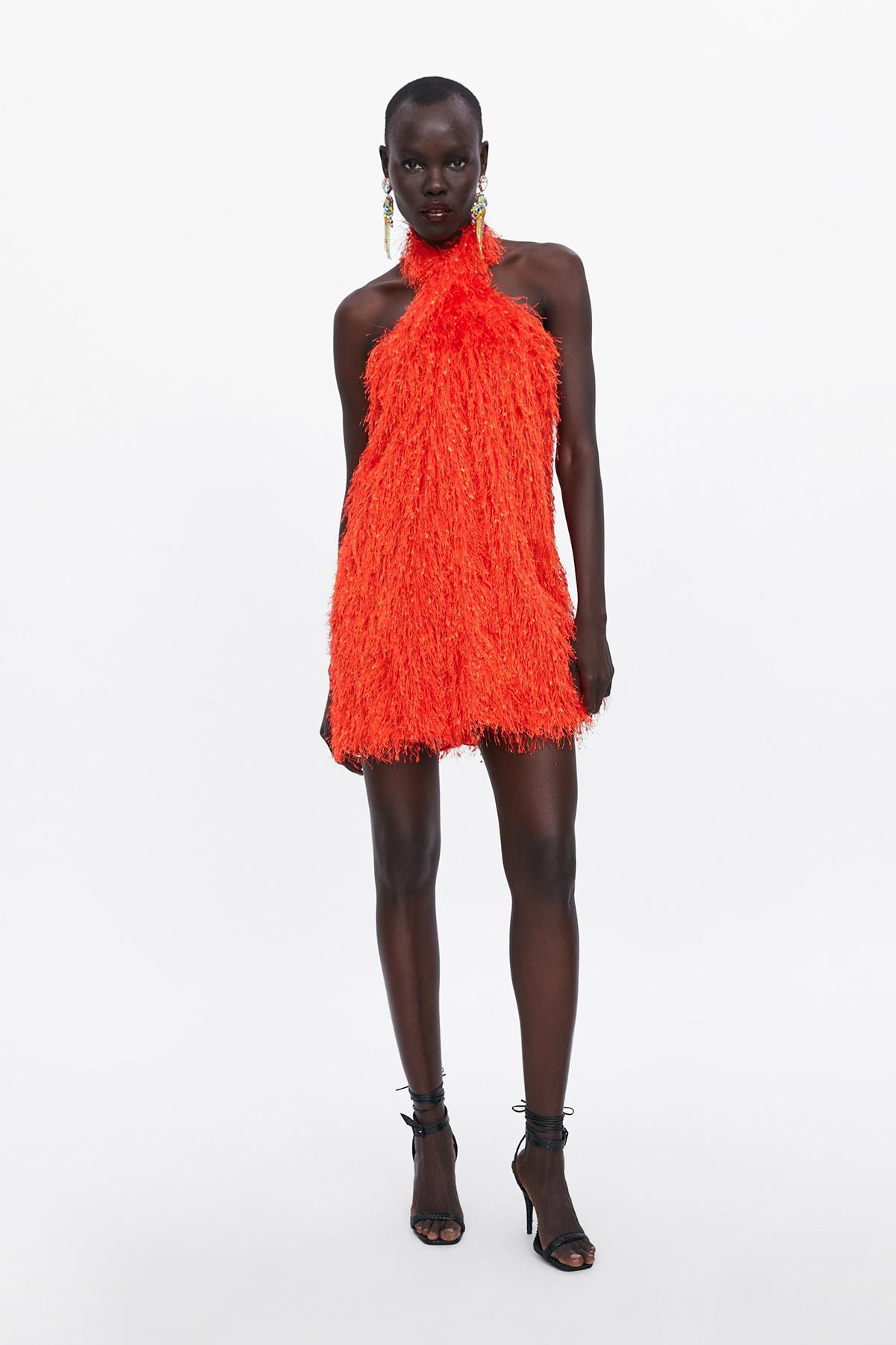 El Vestido Rojo Mas Bonito Del Verano 2019 Lleva Flecos Y Es De Zara