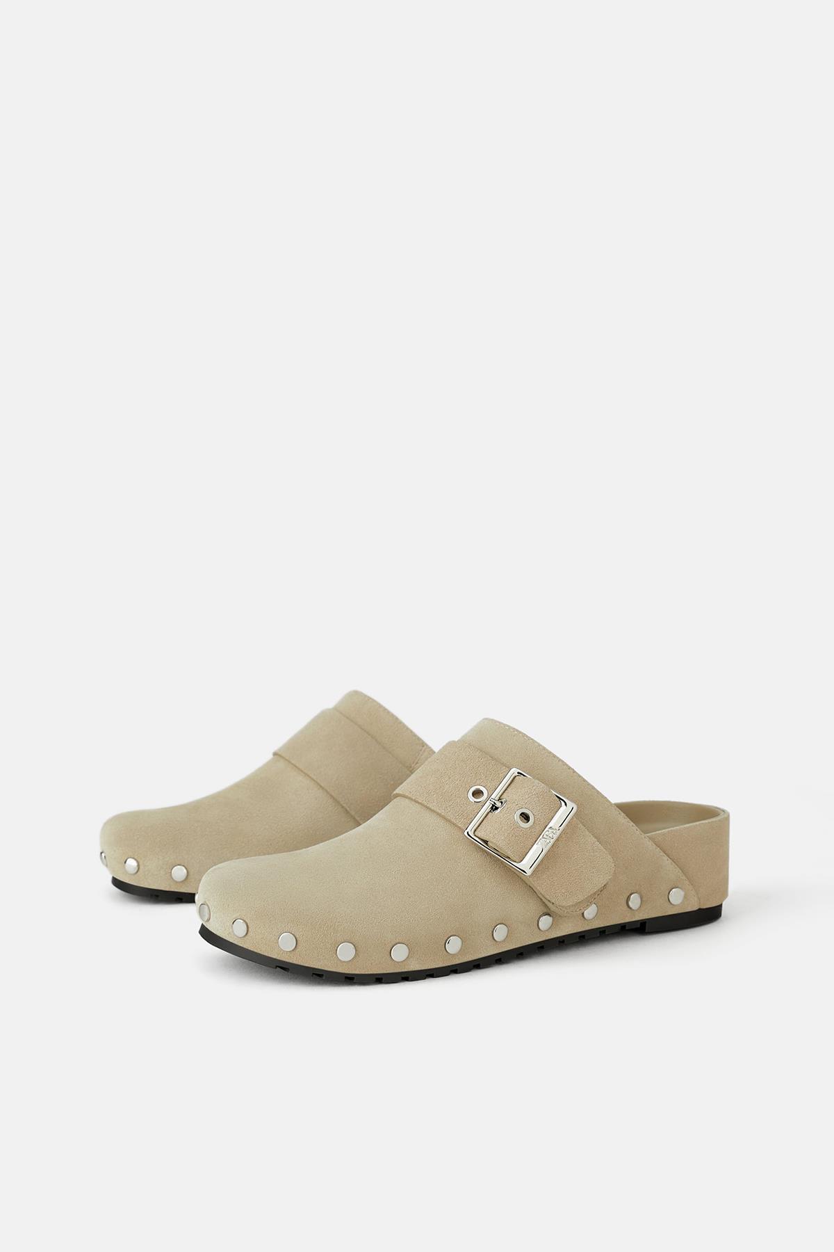 71aceba15d 6-zuecos-premama-zapato-plano-zara. Zapatos planos para premamás