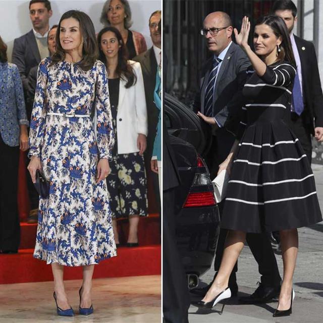 fb12bdcb5 10 vestidos de invitada con el sello de ESTILO de Letizia Ortiz para  triunfar