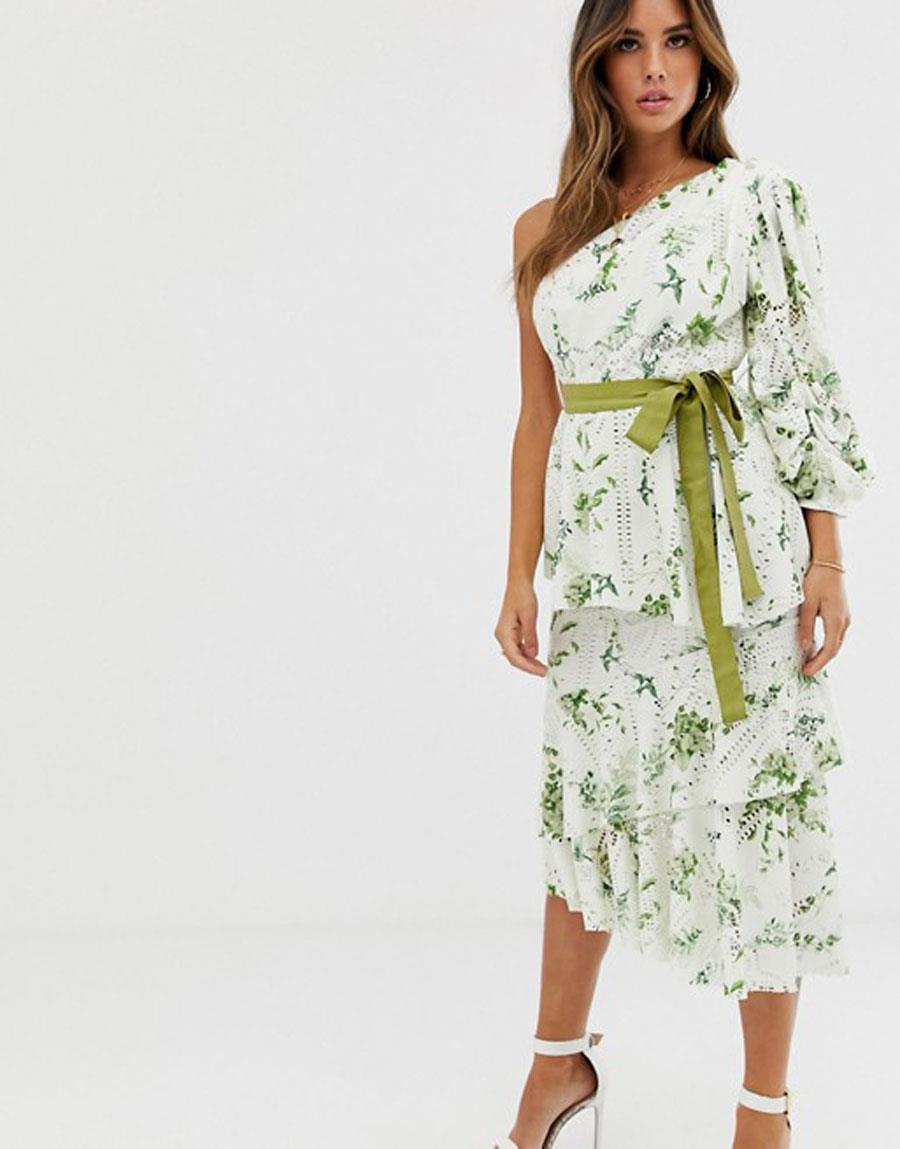 Vestidos Asimetricos Con Un Hombro Al Aire De Moda Verano 2019