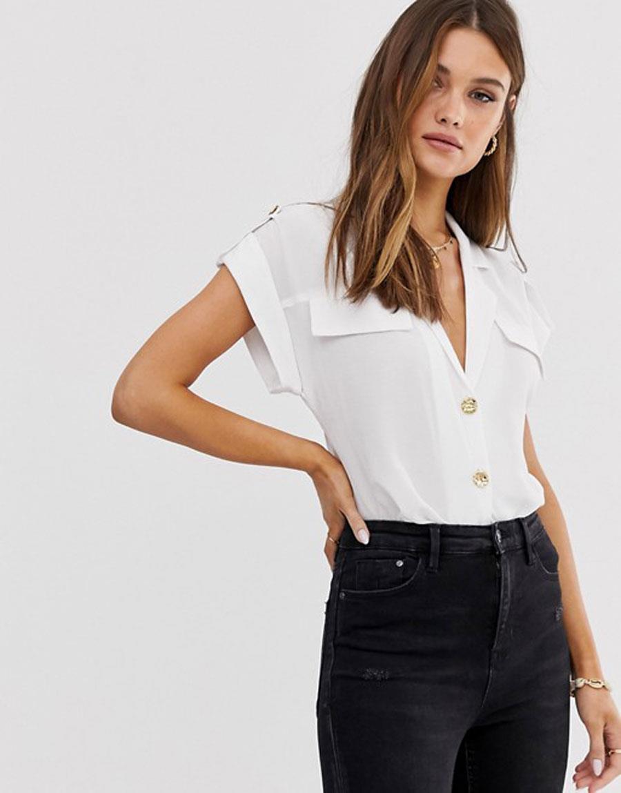 376780d7ccc Camisa blanca de mujer: la prenda de moda que más favorece del ...