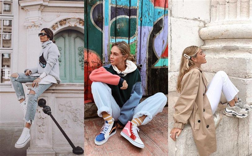 86b5e9582 Zapatillas mujer preferidas de las influencers de Instagram - InStyle