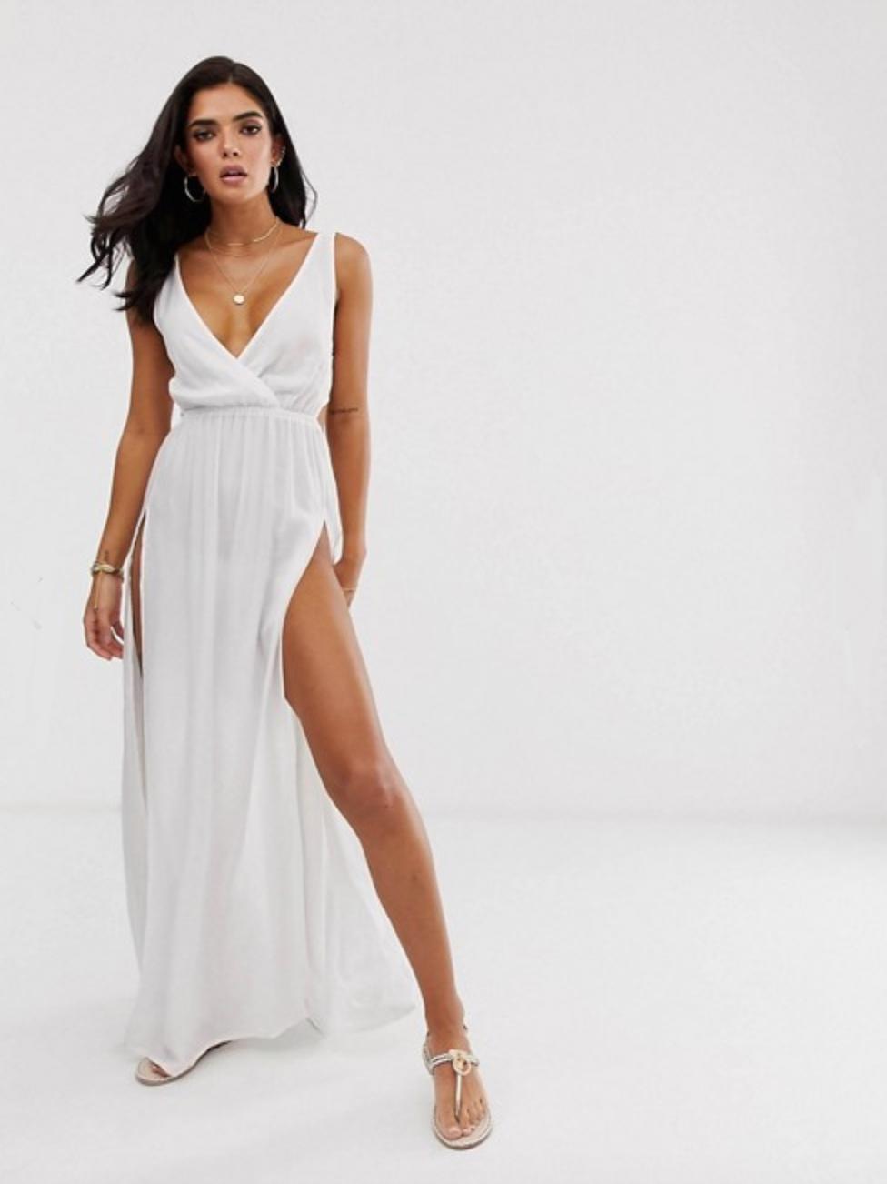 56bd8ee93 1-vestido-largo-blanco-verano-barato-asos. Vestido largo