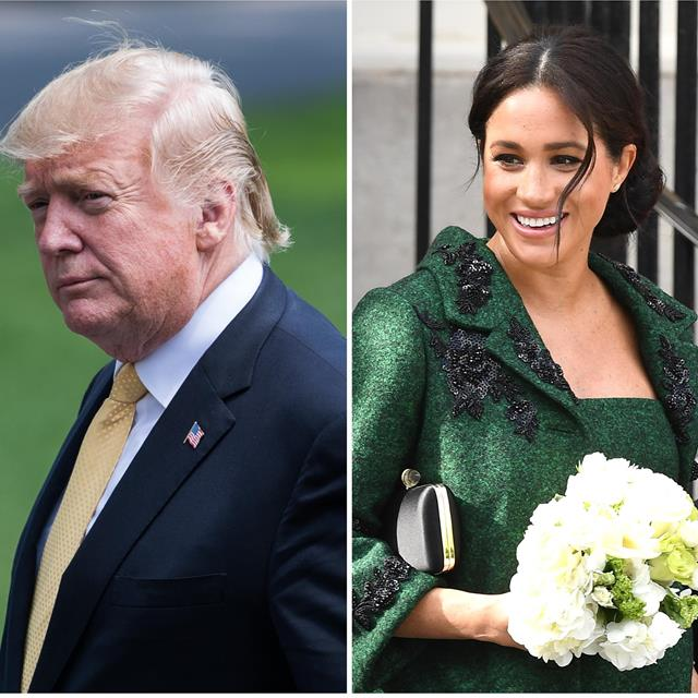 "Donald Trump llama ""desagradable"" a Meghan Markle y las redes estallan"