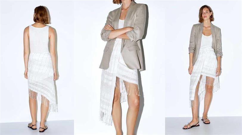 57a13f55cfc7 La falda pareo Zara que viste más que los vestidos de fiesta - InStyle