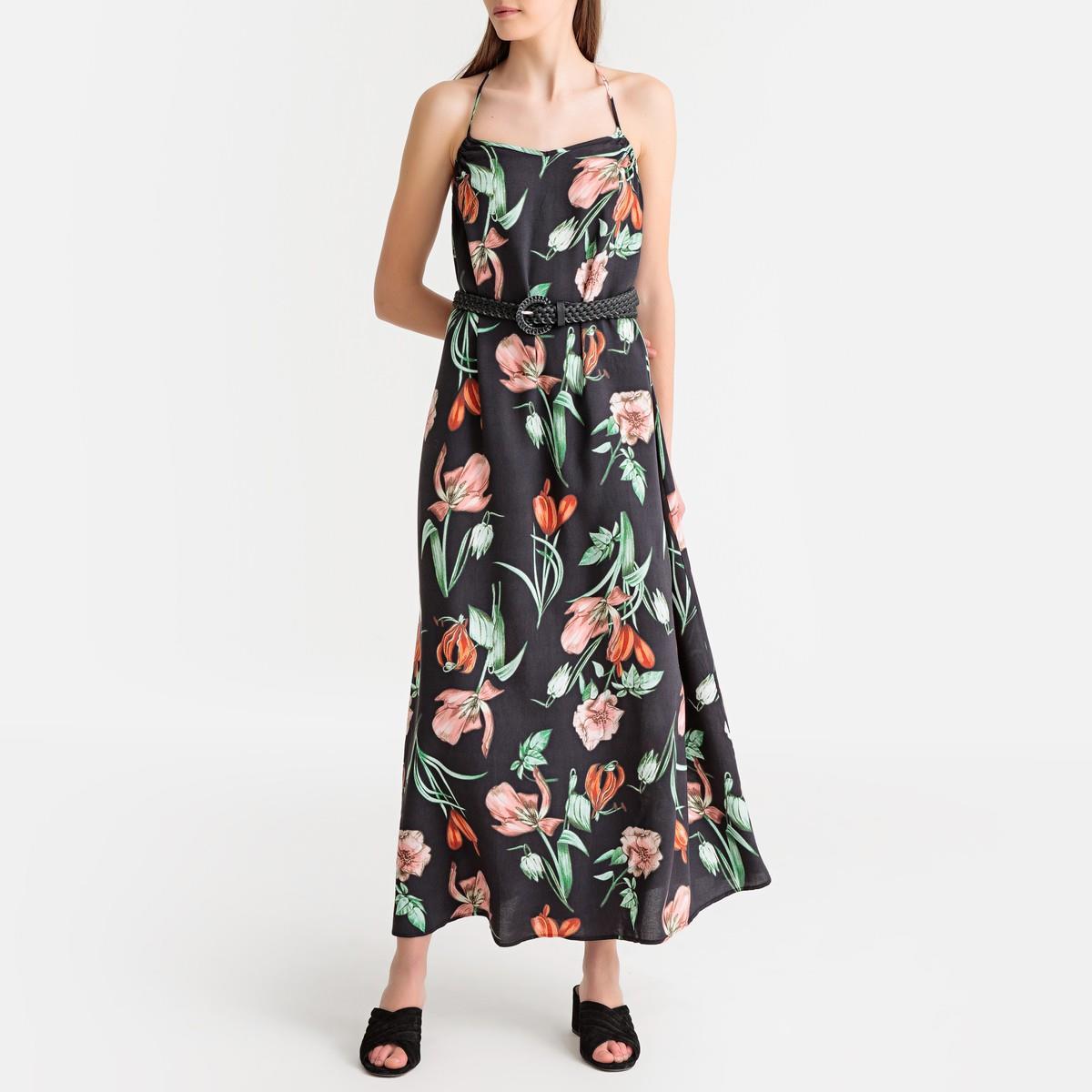 bb782a831db Vestidos largos de moda verano 2019 que quedan MUY BIEN de Zara ...