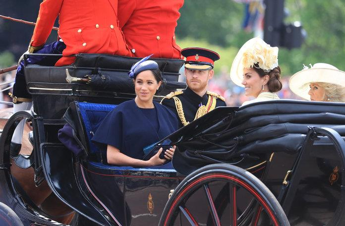 Meghan y Harry han compartido carruaje con Kate Middleton