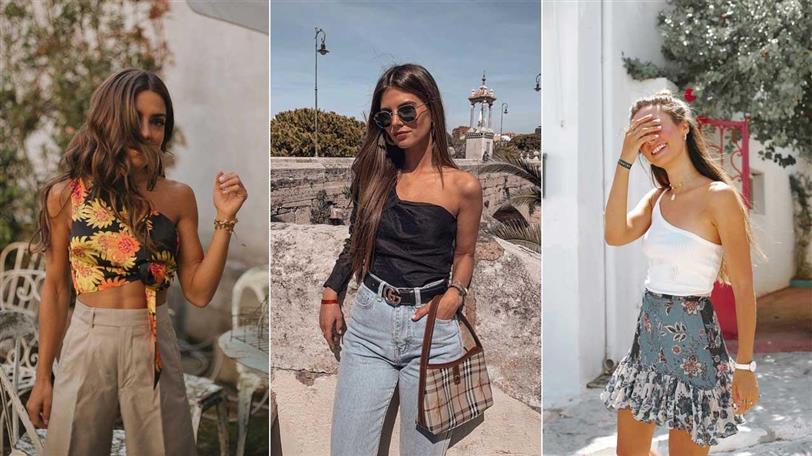 7e55108ce9da Tops de mujer asimétricos: los más de moda del verano (y de las ...