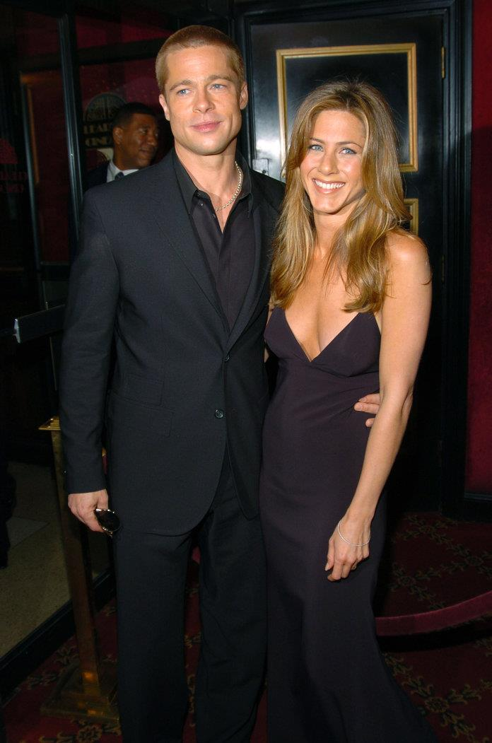 Jennifer Aniston y Brad