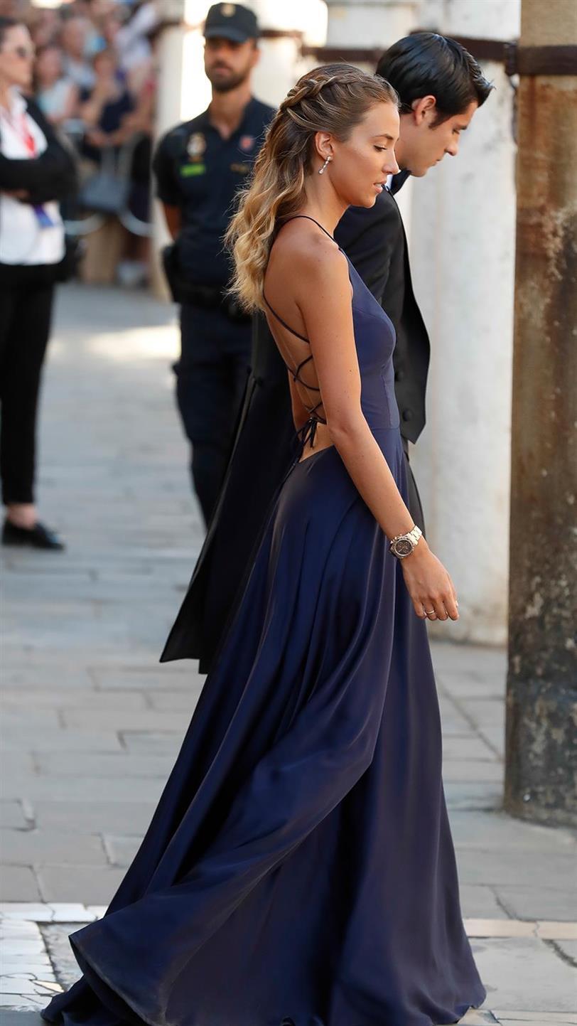 Alice Campello Tiene El Vestido De Invitada Más Elegante Y