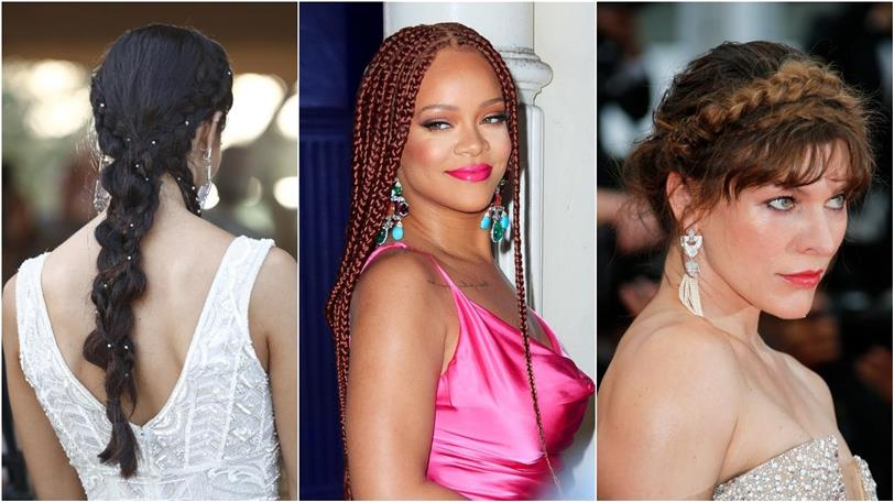 Peinados Con Trenzas De Moda Este Verano 2019 Entre Las