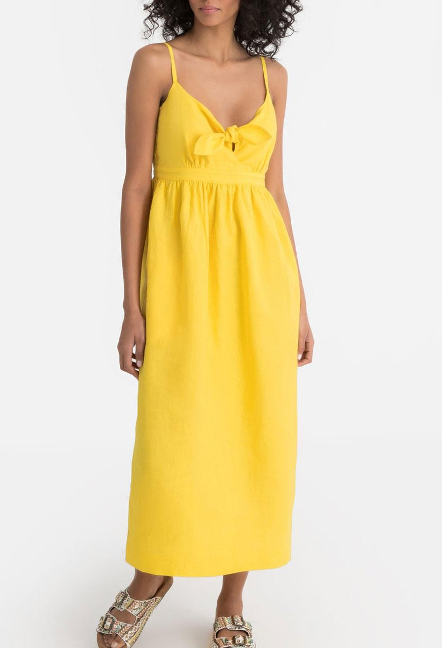 vestido-la-redoute-collection-amarillo