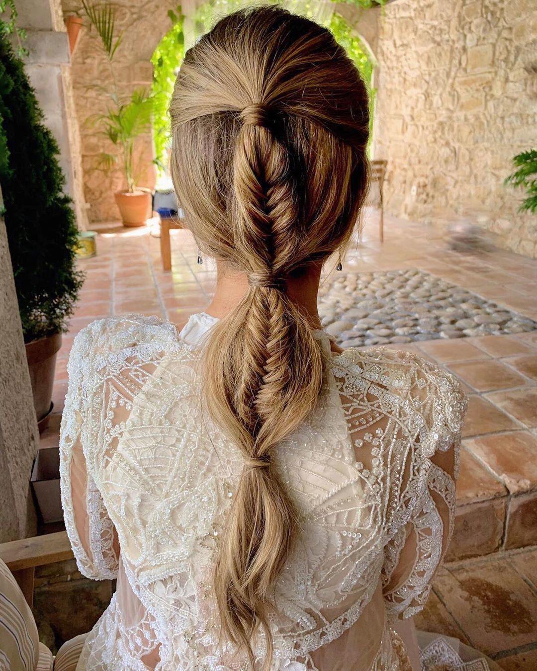 Encantador peinados con coleta Colección De Cortes De Pelo Ideas - Peinados con coleta del verano 2019: coletas altas, coleta ...