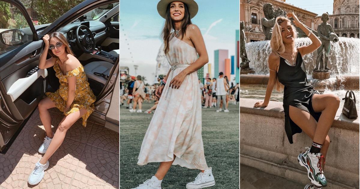 Vestidos Verano Con Rebajados ZapatillasCómo Combinarlos De Instyle lFJK1c