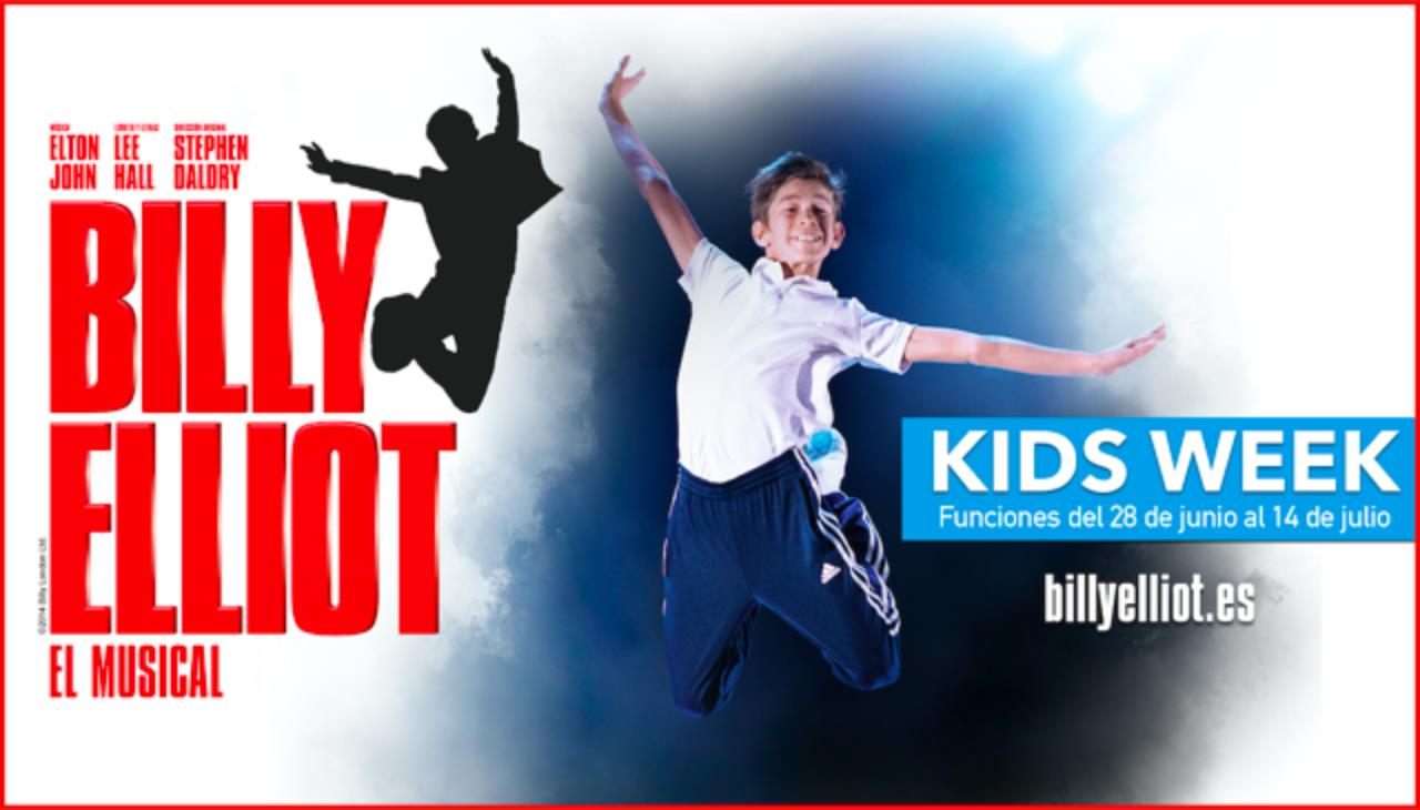 BILLY ELLIOT 'EL MUSICAL' KIDS WEEK (MADRID)