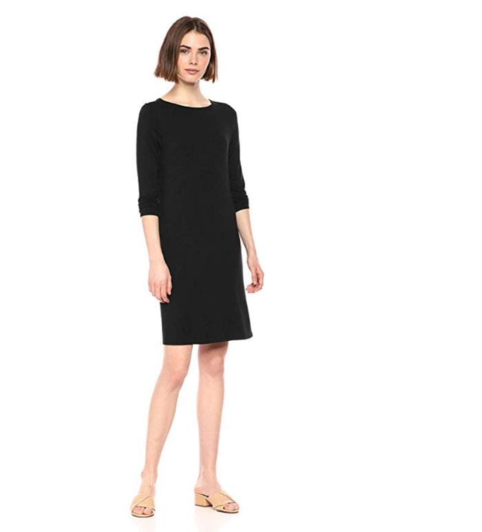 amazon-prime-day-moda-essentials-vestido-corto-negro