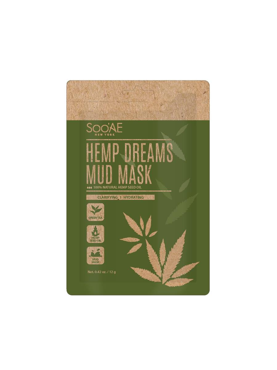 crema-cannabis-sooae. Hemp Dreams Mud Mask, de Sooae