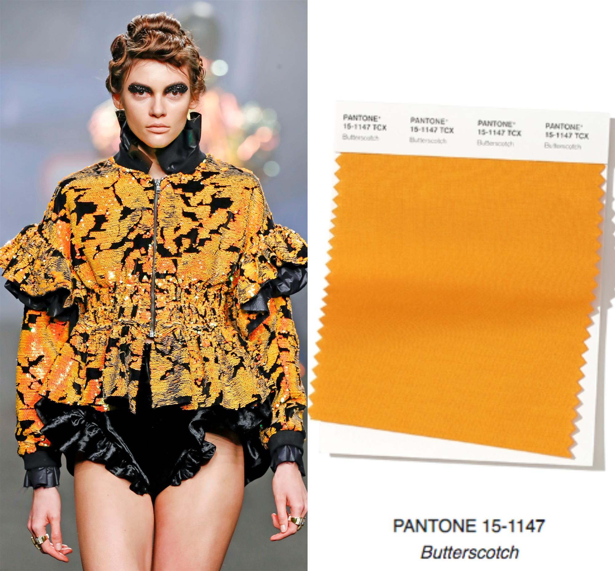PANTONE 15-1147 - Butterscotch