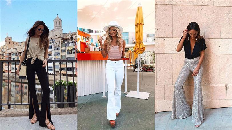 Pantalones Campana De Zara Asos Missguided Como Llevarlos El Verano 2019