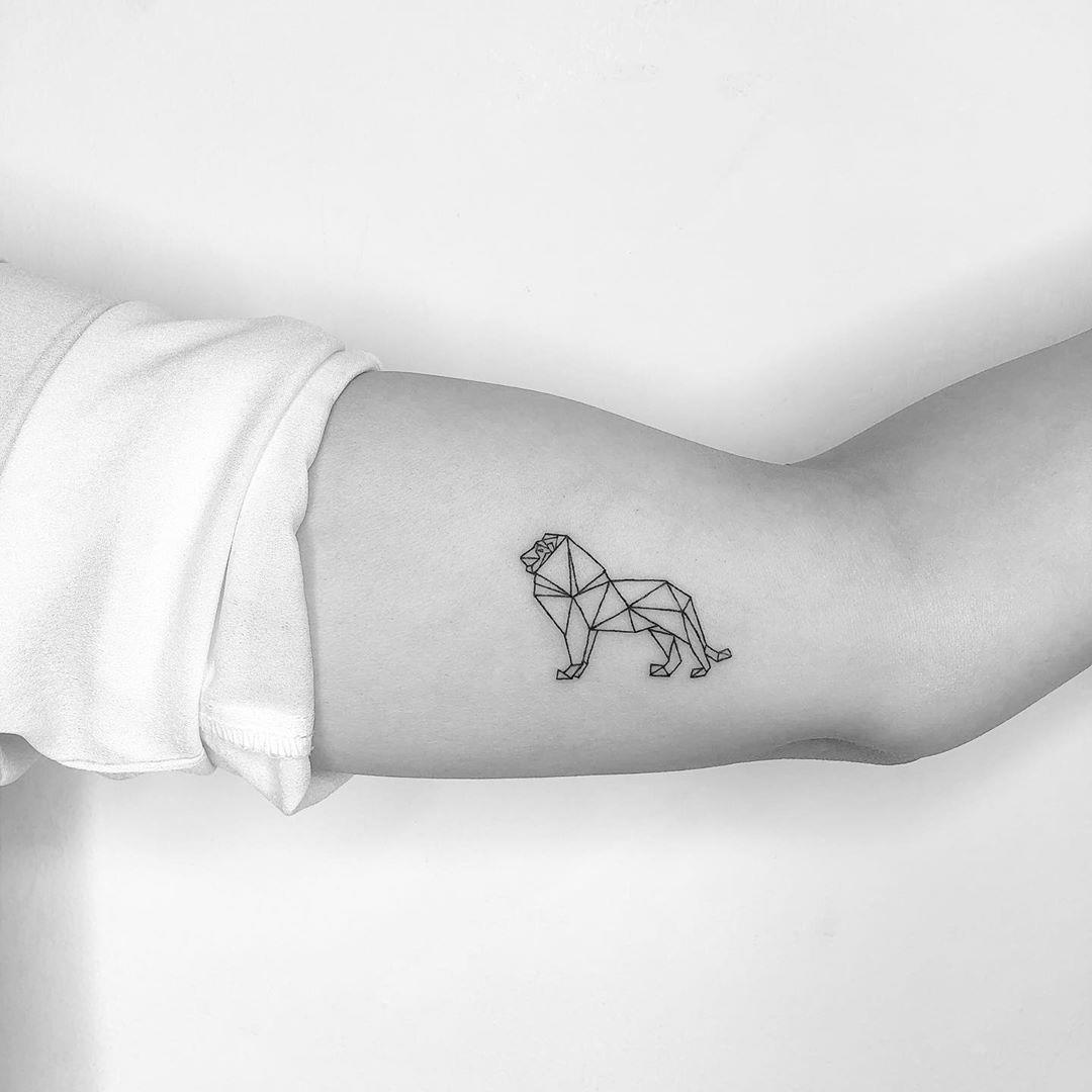 cagridurmaz instagram tattoo leon papiroflexia