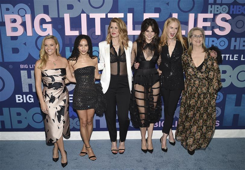 El elenco de Big little lies al completo