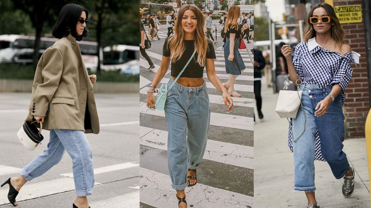 Vaqueros Anchos De Mujer La Moda Del Otono 2019 En Zara Mango H M Diesel