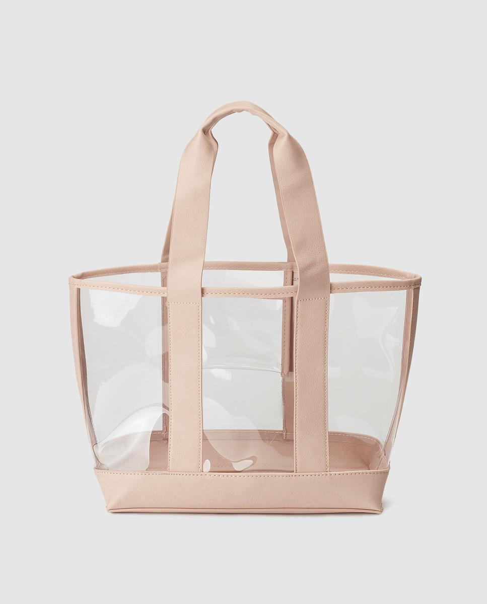 easy wear transparente. Bolso shopper transparente de Easy wear