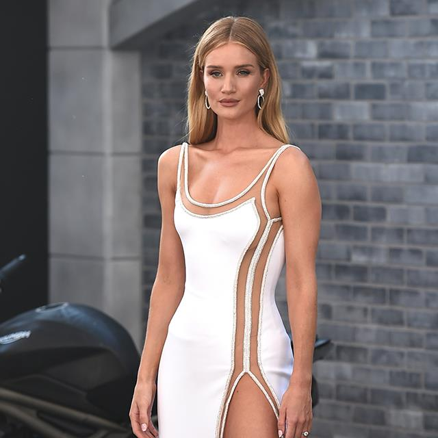 Rosie Huntington-Whiteley ha hecho del body su prenda favorita gracias a Zara
