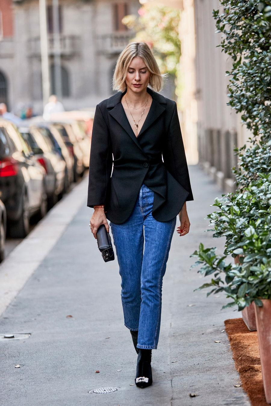 Terminal Nekoliko Meyella Blazer De Mujer Azul Marino Goldstandardsounds Com