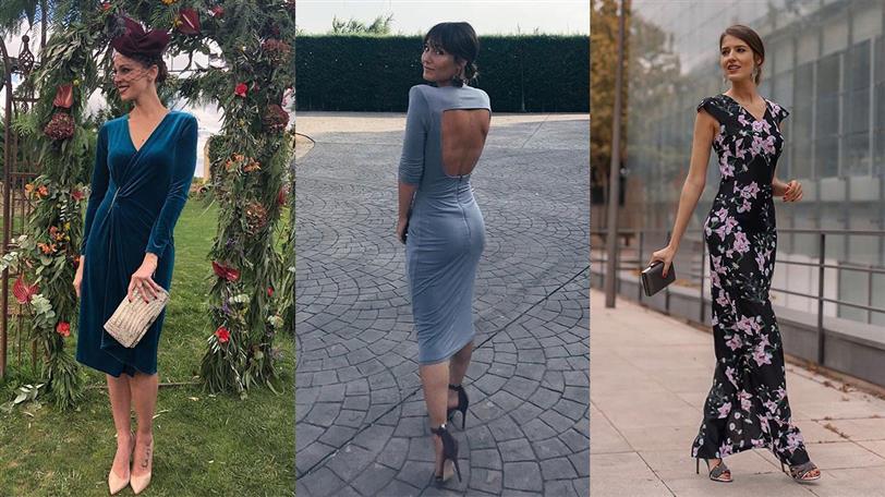 ropa deportiva de alto rendimiento venta caliente nuevas variedades Vestidos de invitada a precio low cost para tu boda de otoño ...