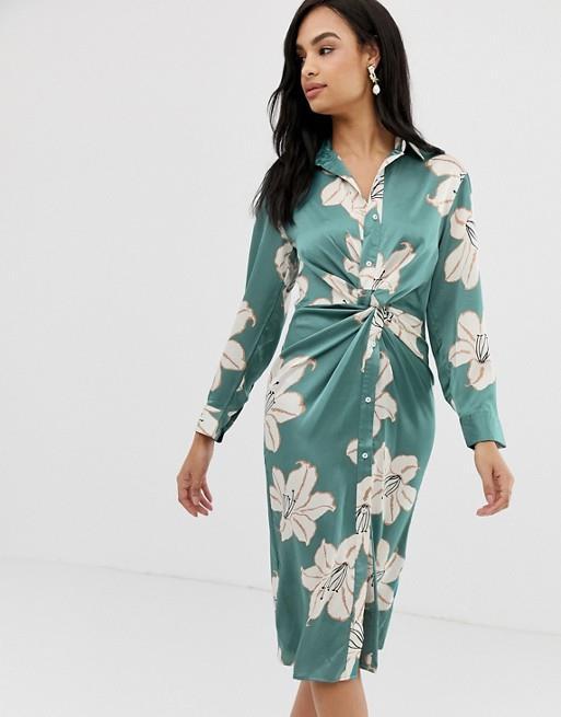 Vestidos De Flores De Moda Otoño Invierno 2019 2020 En Zara