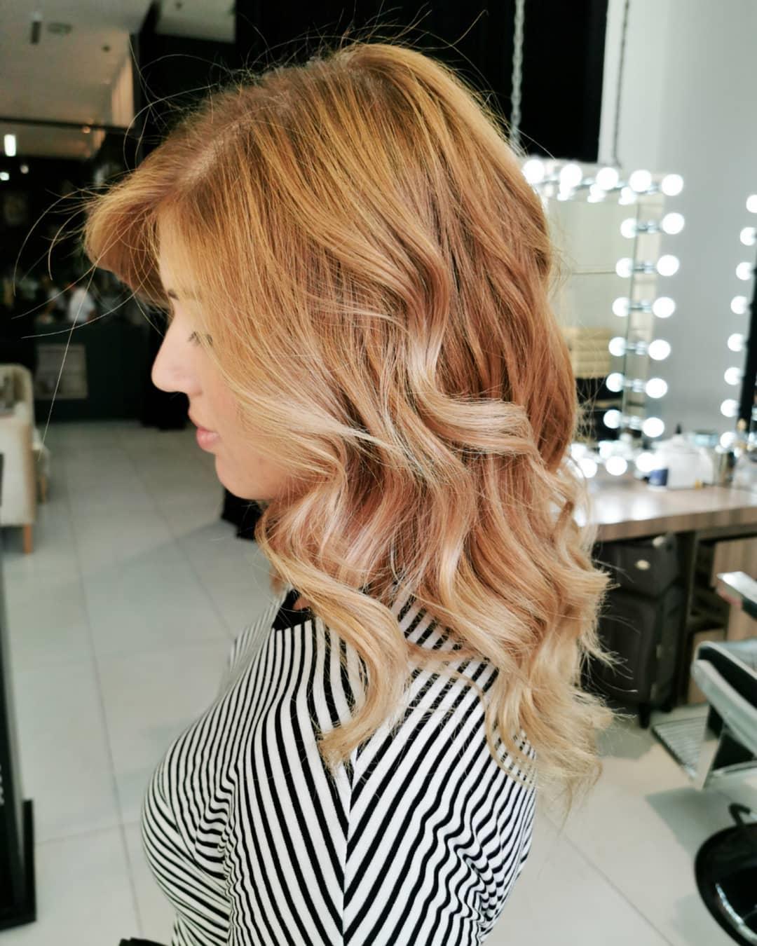 Color de pelo rubio 8