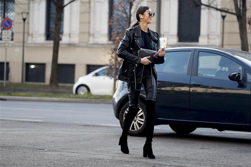 ZARA MUJER CAZADORA MOTERA POLIPIEL | Fashion