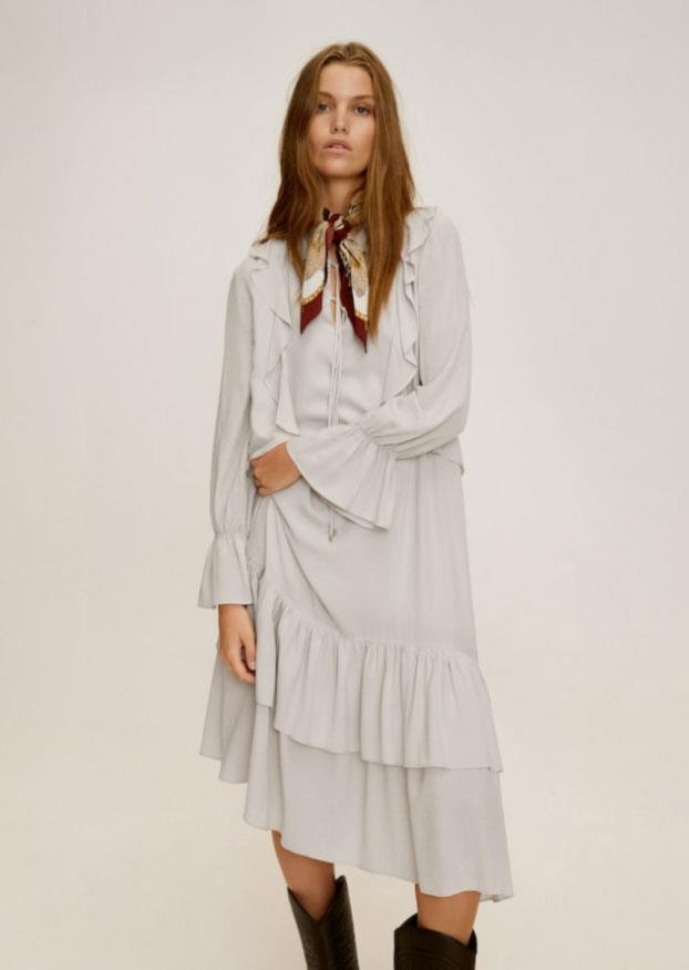 seleccione original mejor venta alta moda Vestidos largos de moda otoño-invierno 2019/20 en Zara ...
