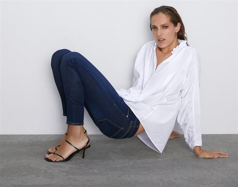 talla 40 a4099 79bdd Zara sabe cuál es el pantalón pitillo que puedes seguir ...