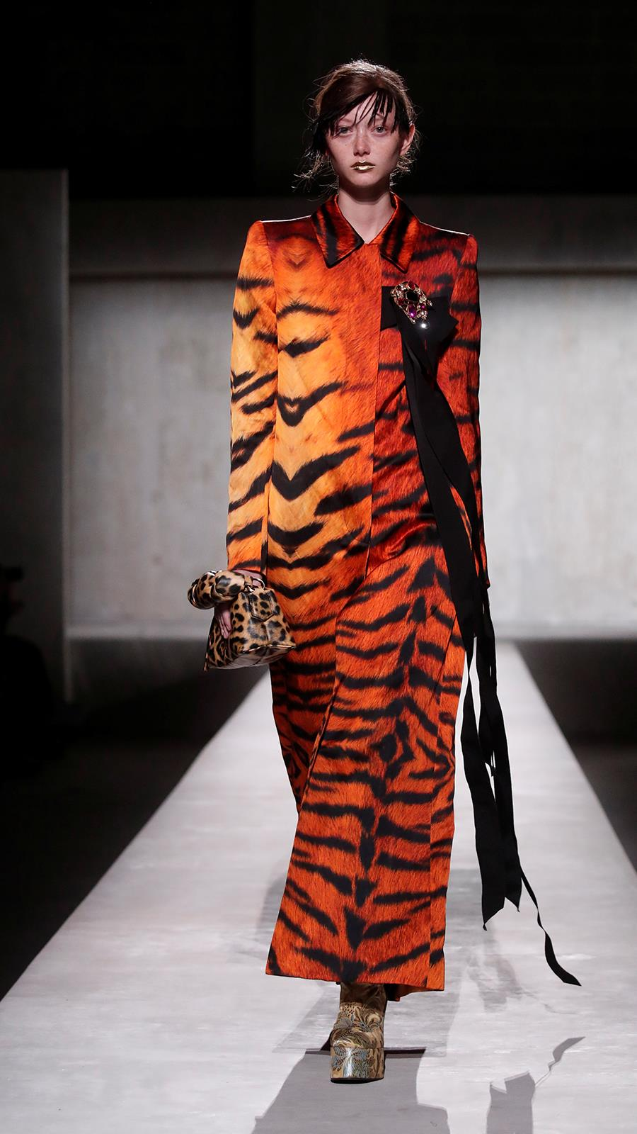 Dries Van Noten animal print