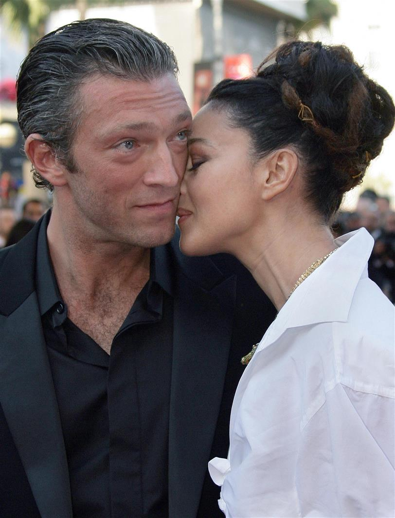 Vincent Cassell y Monia Bellucci