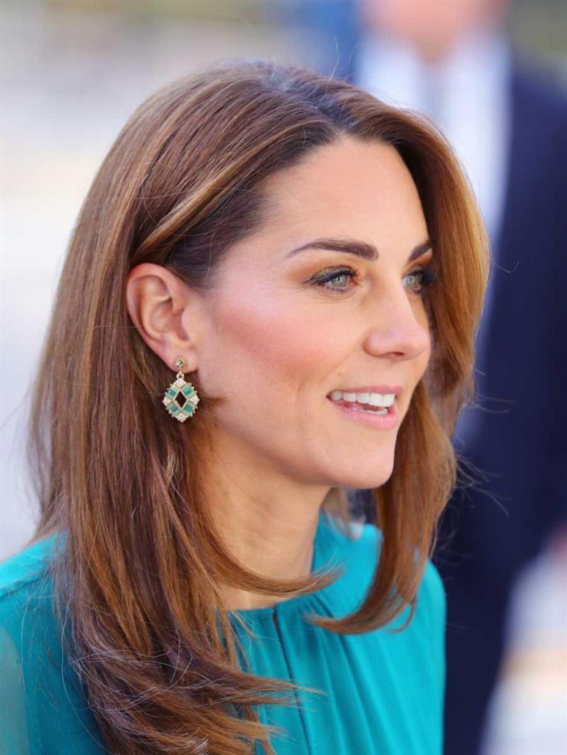 Kate Middleton brilla con su vestido de invitada más bonito