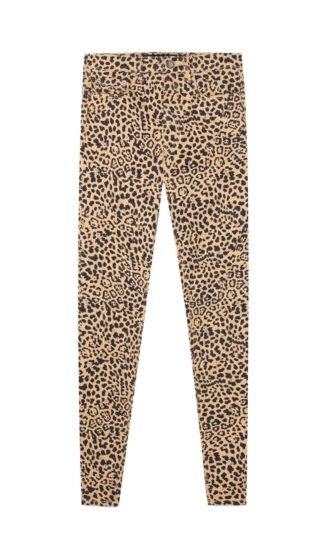 Animal print de Stradivarius