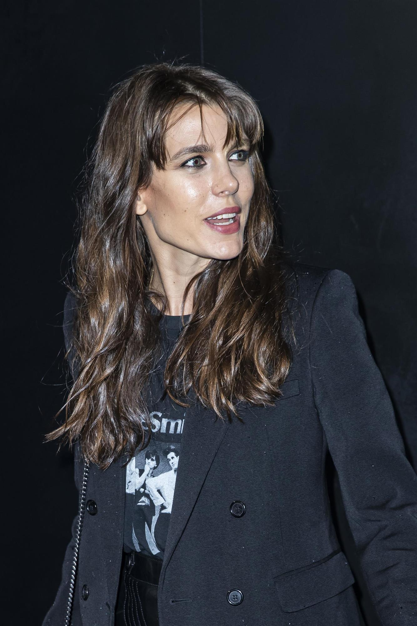 Carlota Casiraghi con flequillo degradado