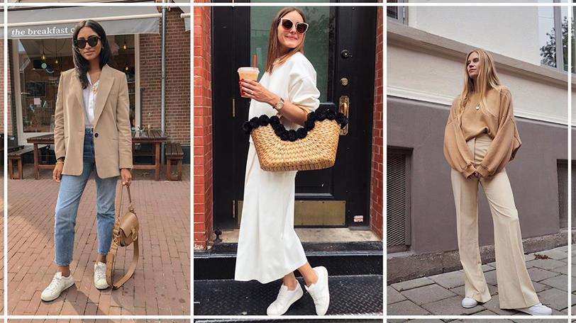 Look con zapatillas: 10 outfits de otoño que combinan con