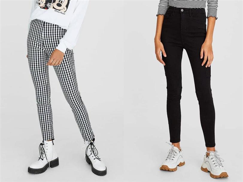 Los Pantalones Mas Buscados De La Tienda Stradivarius Son Pantalones Pitillo
