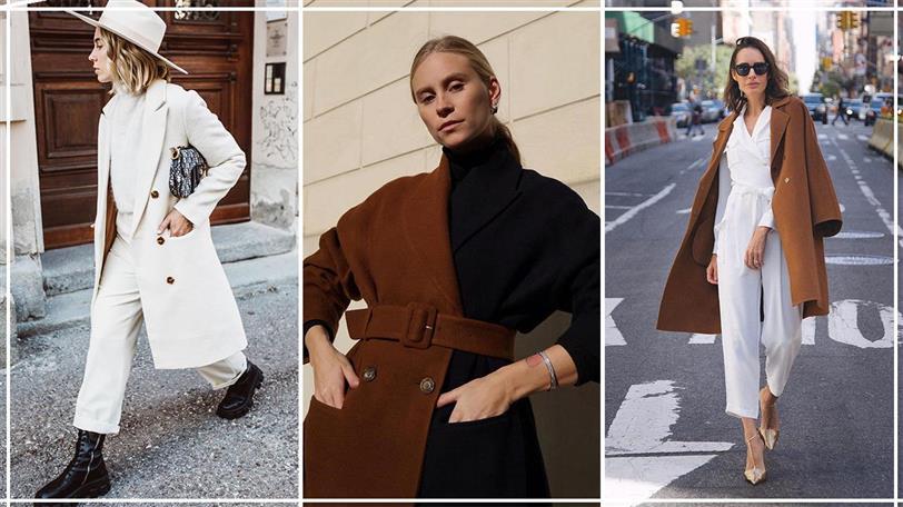 abrigo zara mujer calle