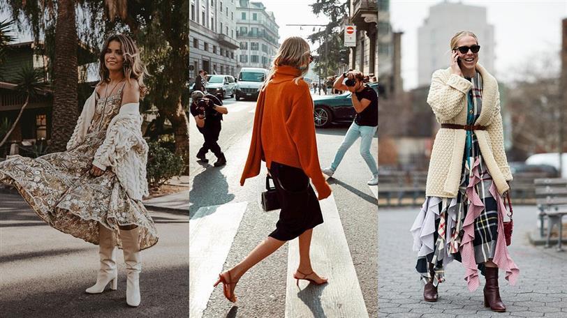 Look de moda otoño invierno 201920: jerséis encima del