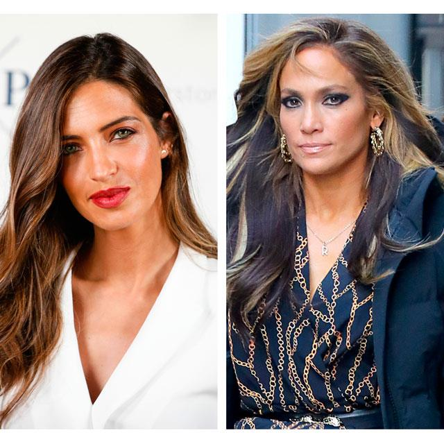 Jennifer Lopez y Sara Carbonero coinciden en el color de invitada IDEAL